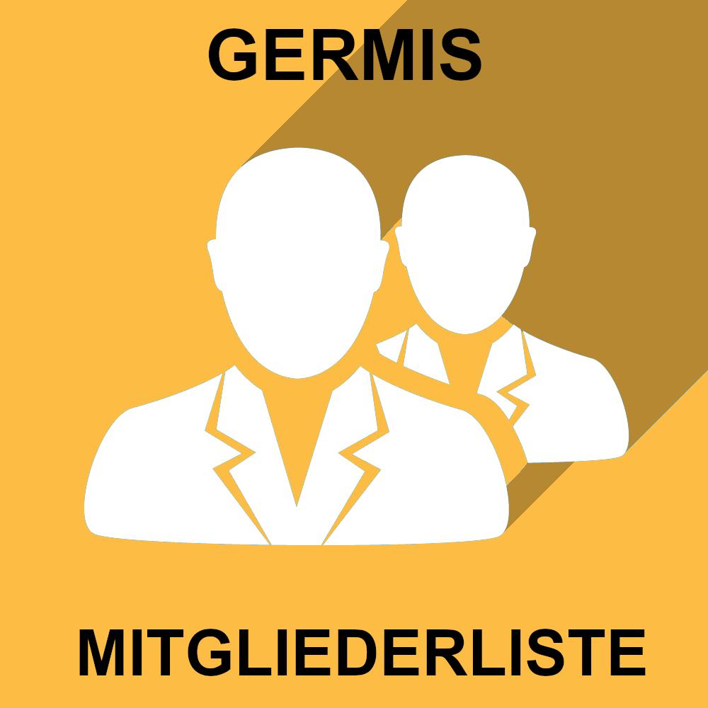 GERMIS MITGLIEDERLISTE